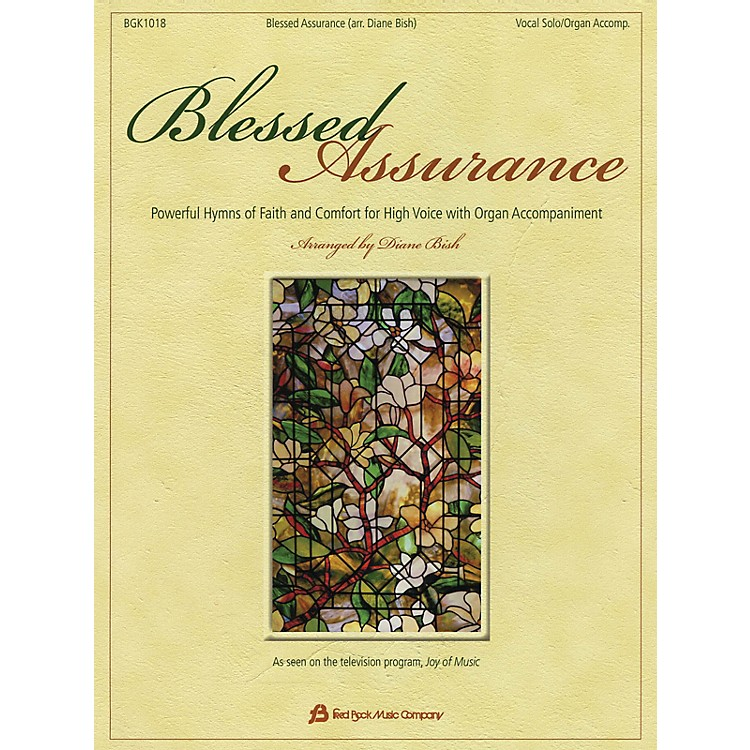 Fred Bock Music Blessed Assurance Fred Bock Publications Series Softcover