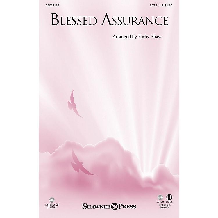 Shawnee PressBlessed Assurance (Rhythm/Horns) BRASS/RHTYHM Arranged by Kirby Shaw