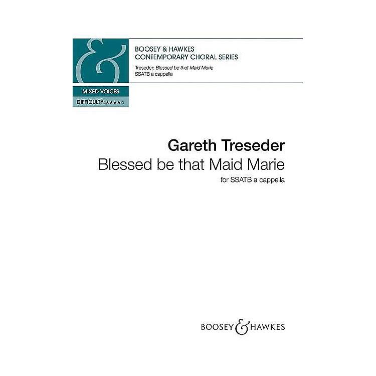 Hal LeonardBlessed Be That Maid Marie Ssatb A Cappella SSATB A Cappella