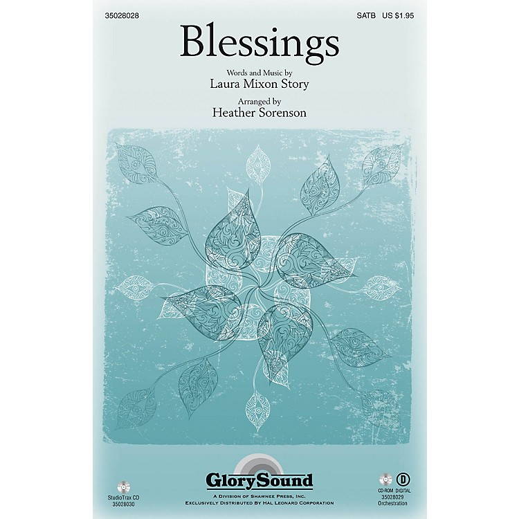 Shawnee PressBlessings Studiotrax CD Arranged by Heather Sorenson