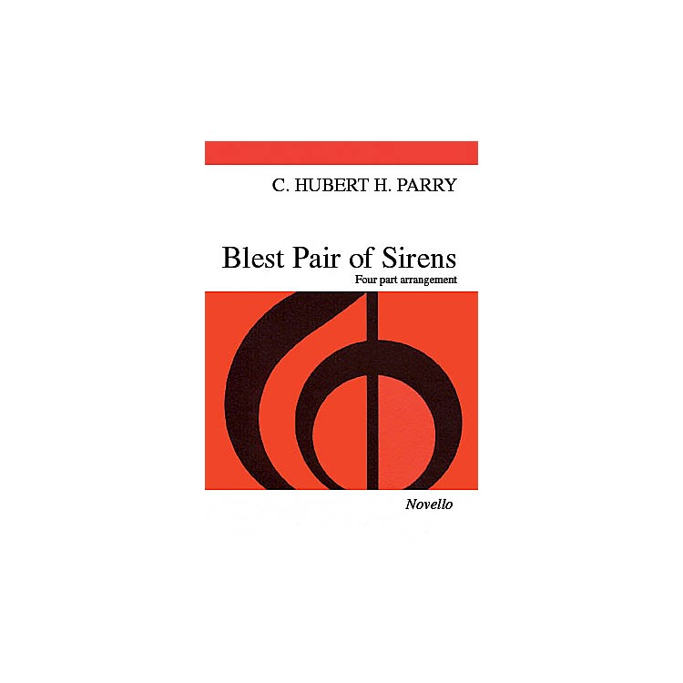 NovelloBlest Pair of Sirens SATB Arranged by C.S. Lang