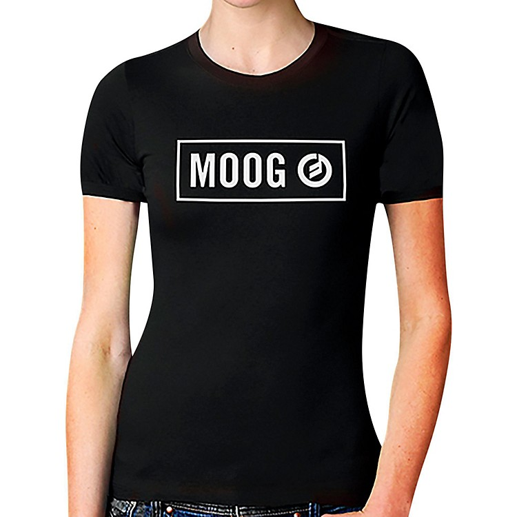 Moog Block Womans T-Shirt Large