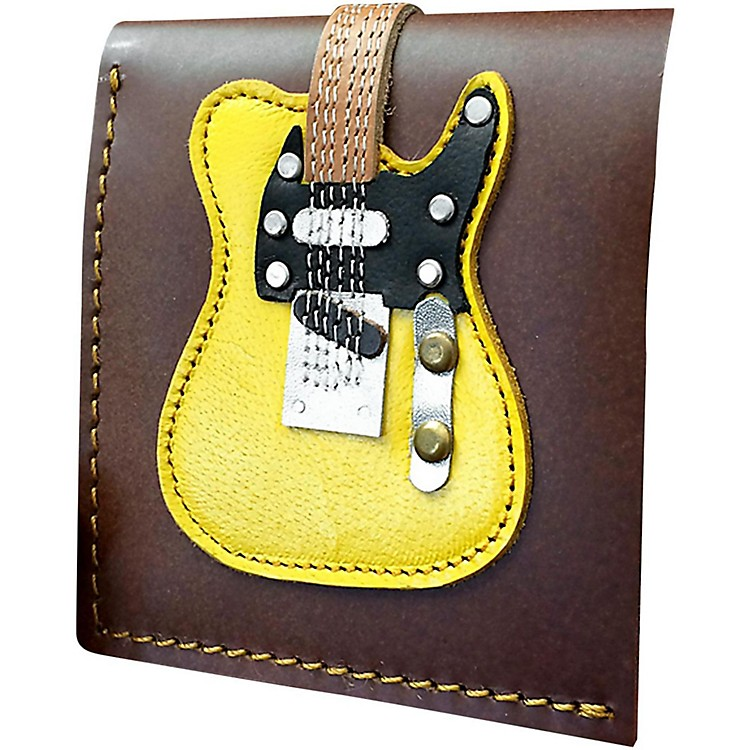 Axe Heaven Blonde Electric Guitar Wallet - Handmade - Genuine Leather