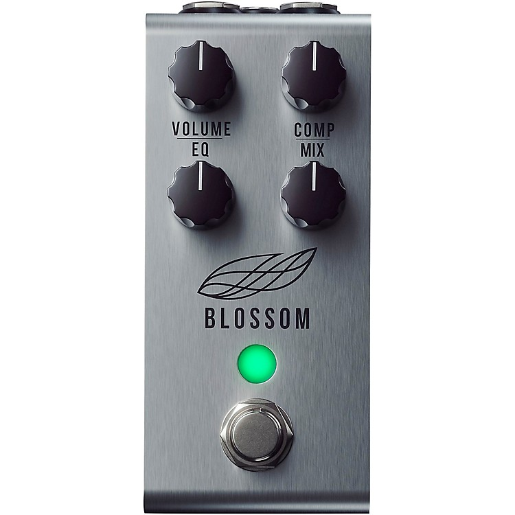 Jackson Audio Blossom Optical Compressor Effects Pedal Silver