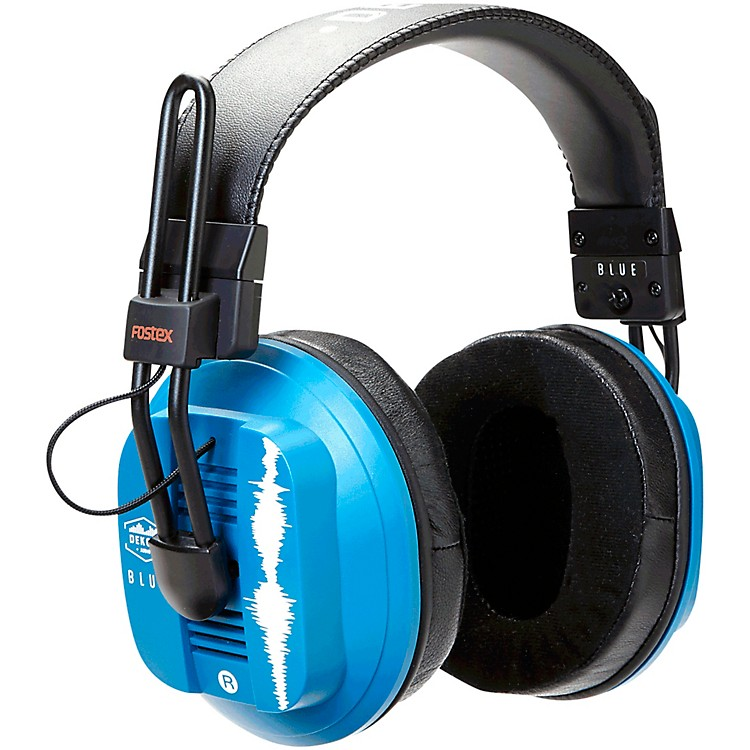 Dekoni AudioBlue - Fostex/Dekoni Audiophile HiFi Planar Magnetic Headphone