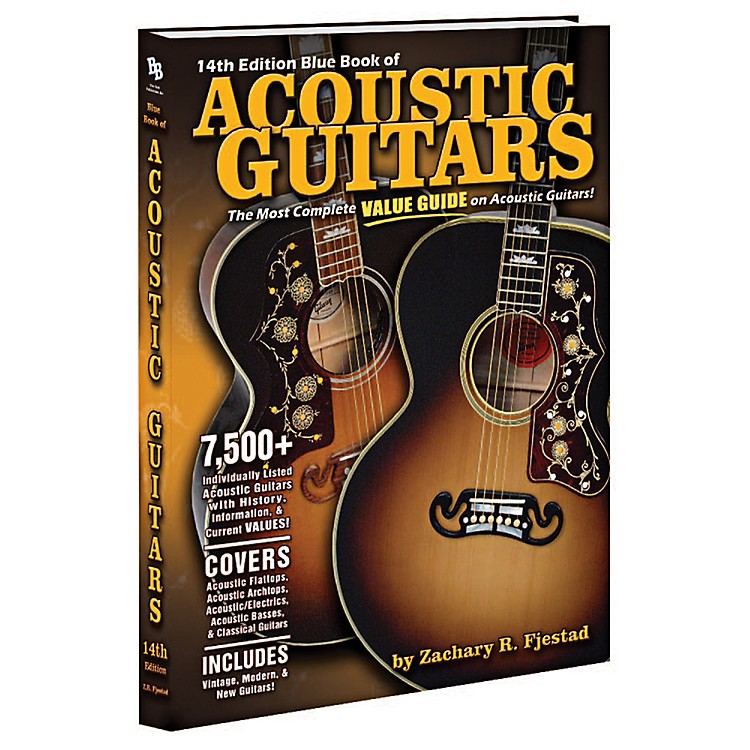 AlfredBlue Book of Acoustic Guitars (14th Edition)