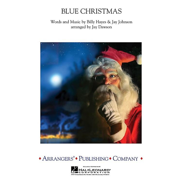 ArrangersBlue Christmas Concert Band by Elvis Presley Arranged by Jay Dawson