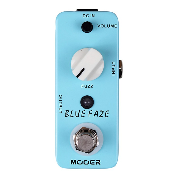 MooerBlue Faze Vintage Fuzz Guitar Effects  Pedal