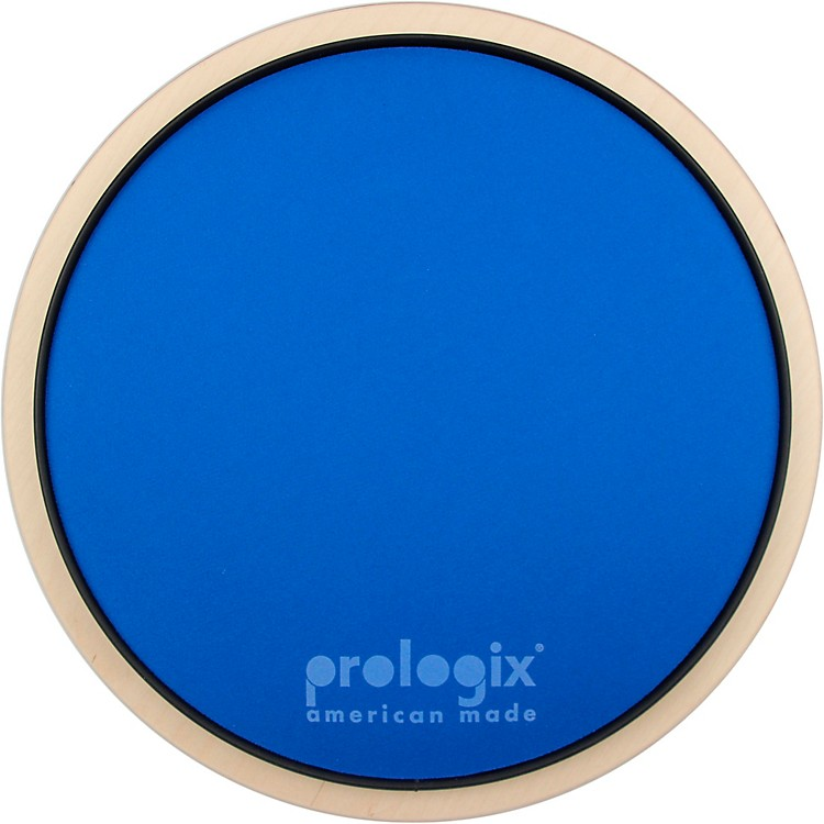 ProLogix PercussionBlue Lightning Practice Pad With Rim12 in.