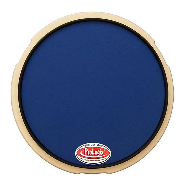 ProLogix PercussionBlue Lightning Series Practice Pad10 in.