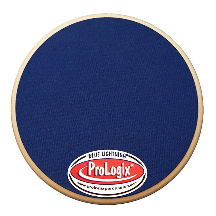 ProLogix PercussionBlue Lightning Series Practice Pad6 in.