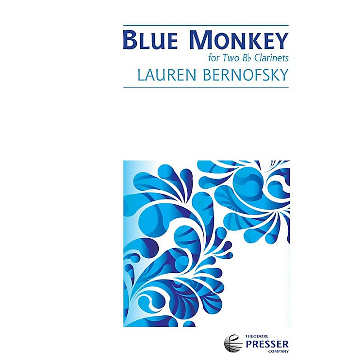 Carl Fischer Blue Monkey - Clarinet Duet