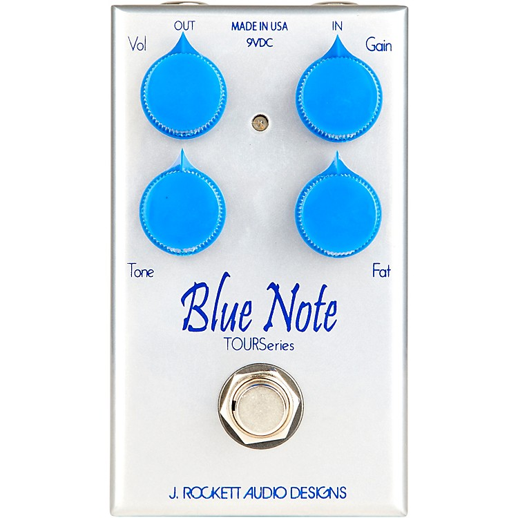 Rockett PedalsBlue Note Tour Low Gain Overdrive Effects Pedal