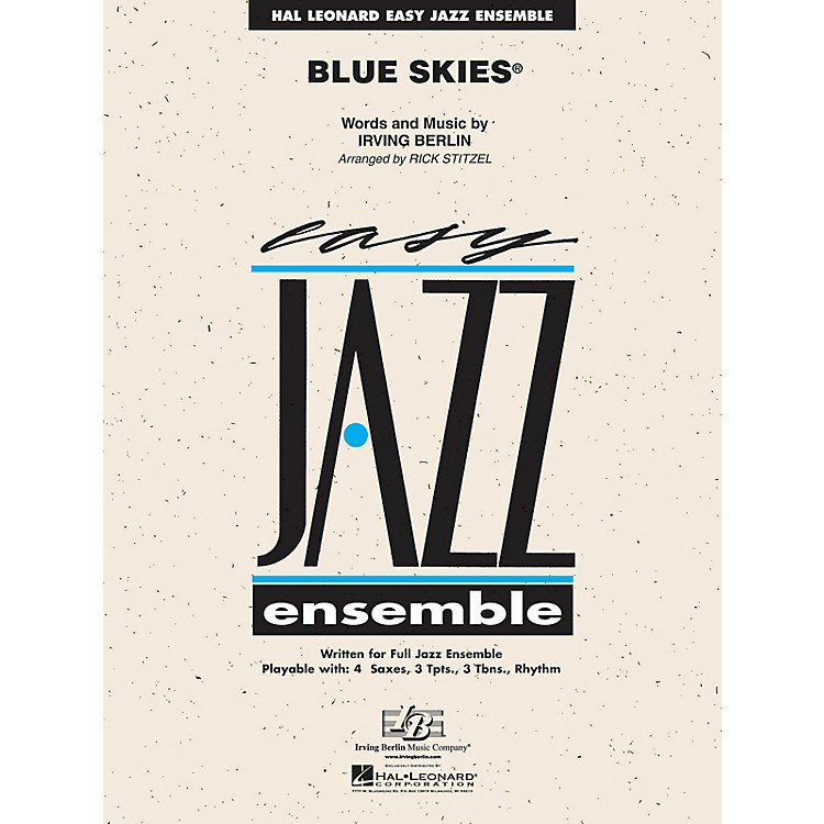 Hal Leonard Blue Skies Jazz Band Level 2 Arranged by Rick Stitzel