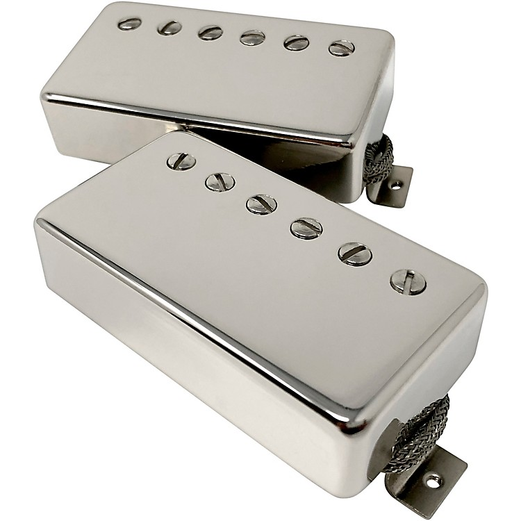 SheptoneBlue Sky PAF Style Humbucker Set with Nickel CoversNickel Cover