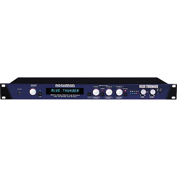 Rocktron Blue Thunder Bass Preamp with Multi-Effects