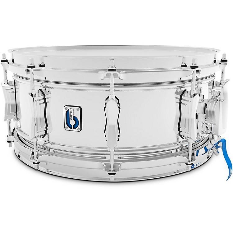 British Drum Co. Bluebird Pro Snare Drum 14 x 6 in. Chrome