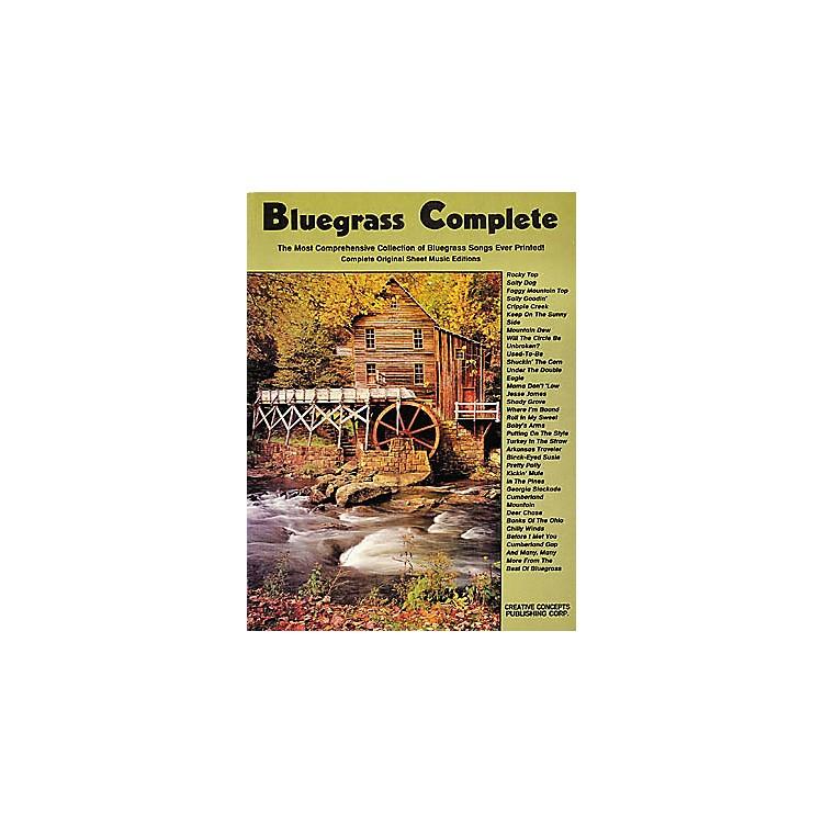 Creative ConceptsBluegrass Complete Songbook