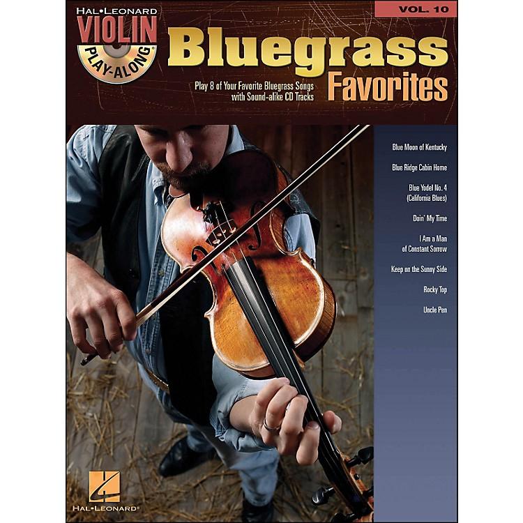 Hal LeonardBluegrass Favorites - Violin Play-Along Volume 10 (Book/CD)