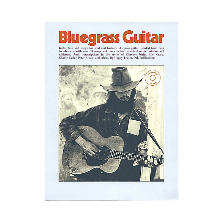 OakBluegrass Guitar Music Sales America Series Softcover with CD Written by Happy Traum