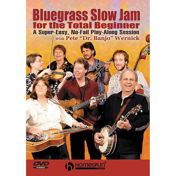 HomespunBluegrass Slow Jam for the Total Beginner - Any Instrument (DVD)