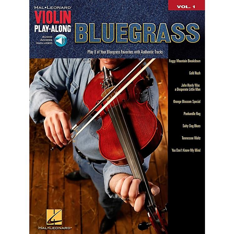 Hal LeonardBluegrass Violin Play-Along Volume 1 Book/Online Audio