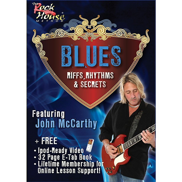 Hal Leonard Blues - Riffs, Rhythms, and Secrets DVD