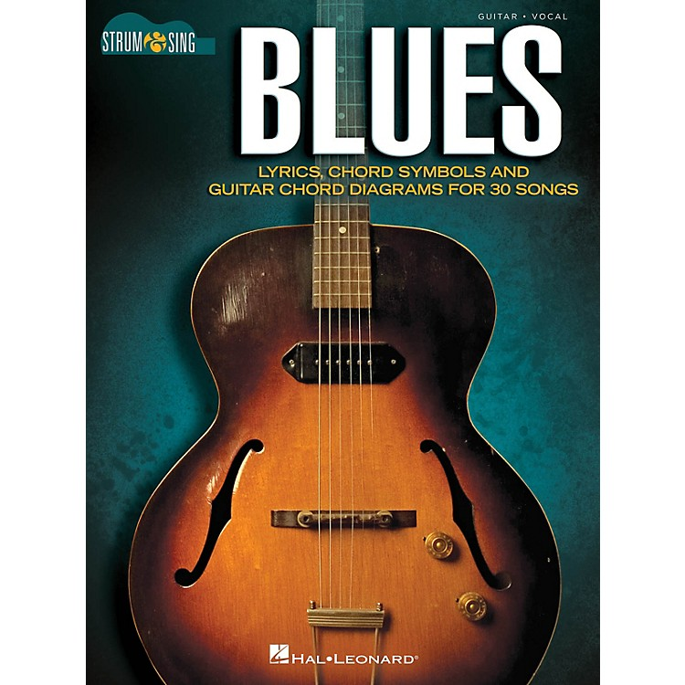 Hal LeonardBlues - Strum & Sing Guitar Strum and Sing Series Softcover Performed by Various