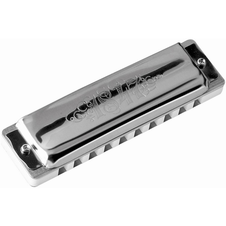 SEYDELBlues 1847 Harmonica Set Silver with Softcase (Set of 5)