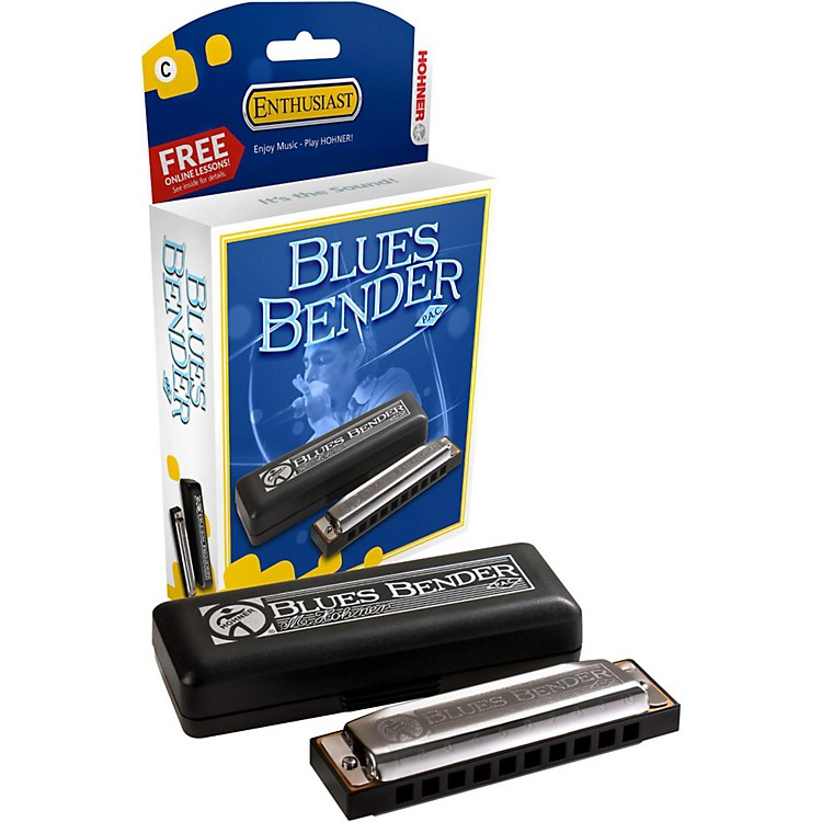 Hohner Blues Bender P.A.C. Harmonica C
