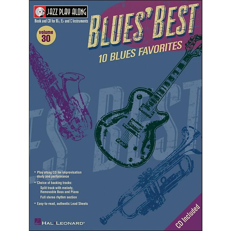 Hal LeonardBlues' Best Volume 30 Book/CD Jazz Play Along for B, E, & C Instruments