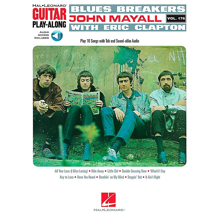 Hal Leonard Blues Breakers With John Mayall & Eric Clapton - Guitar Play-Along Book/CD