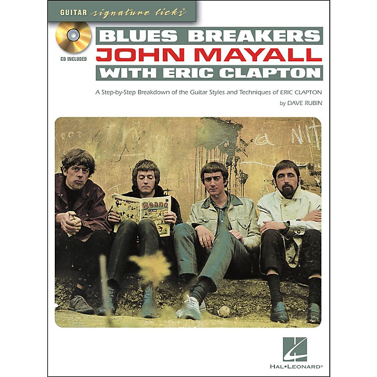 Hal Leonard Blues Breakers With John Mayall & Eric Clapton - Guitar Signature Licks Book/CD
