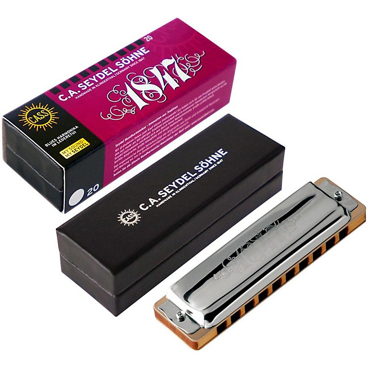 SEYDEL Blues Classic 1847 Harmonica Bb