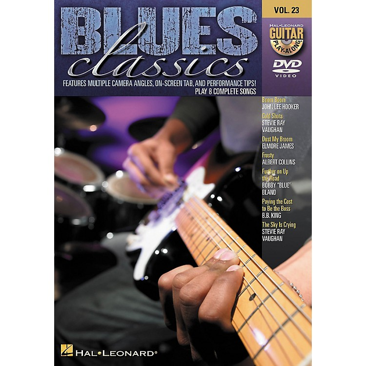 Hal LeonardBlues Classics - Guitar Play-Along DVD Volume 23