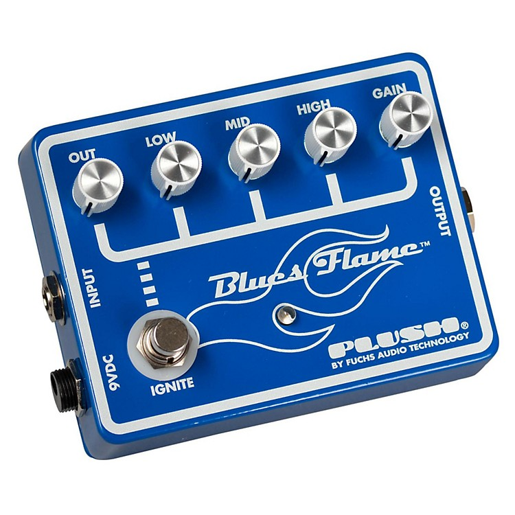 PlushBlues Flame Overdrive Guitar Effects Pedal