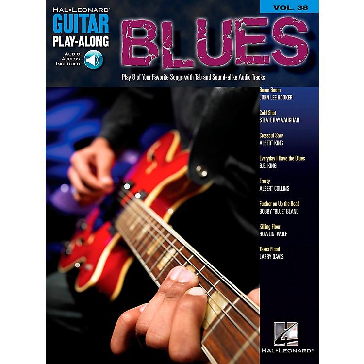 Hal LeonardBlues Guitar Play-Along Volume 38 Book with CD