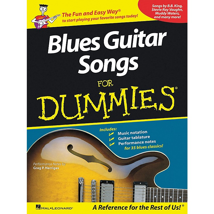 Hal LeonardBlues Guitar Songs for Dummies Guitar Tab Songbook