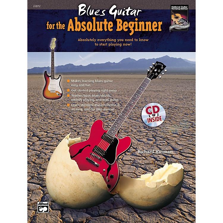 AlfredBlues Guitar for the Absolute Beginner Book/CD Set