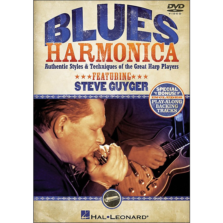 Hal Leonard Blues Harmonica - Authentic Styles & Techniques Of The Great Harp Players (DVD)