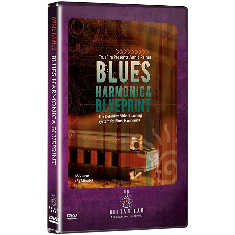 Emedia Blues Harmonica Blueprint DVD