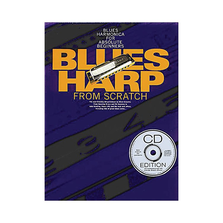 Music SalesBlues Harp from Scratch Music Sales America Series Softcover with CD Written by Mick Kinsella