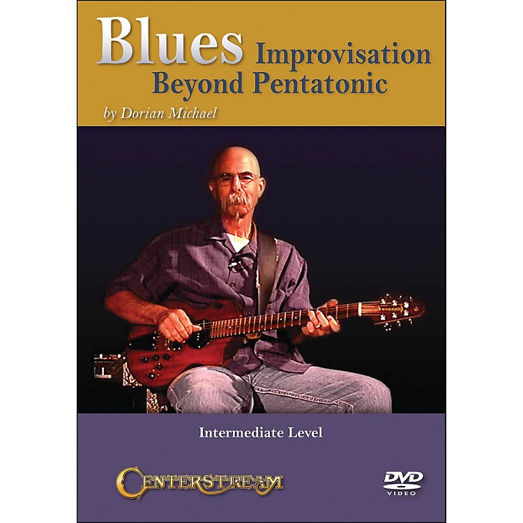 Centerstream Publishing Blues Improvisation- Beyond Pentatonic (DVD)