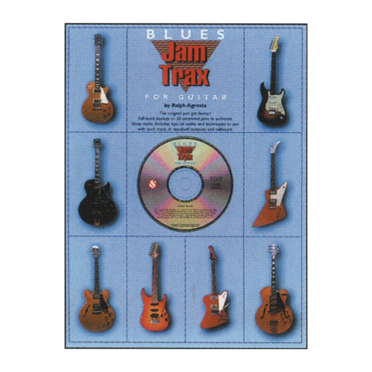 Music SalesBlues Jam Trax for Guitar CD