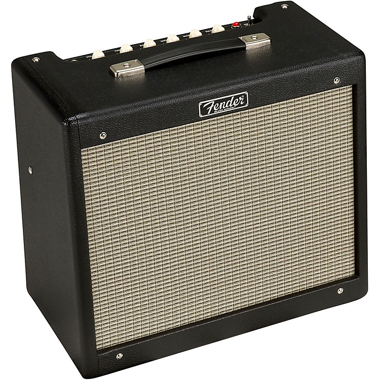 Fender Blues Junior IV 15W 1x12 Tube Guitar Combo Amplifier Black