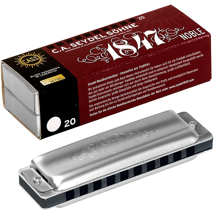 SEYDEL Blues Noble 1847 Harmonica Low C