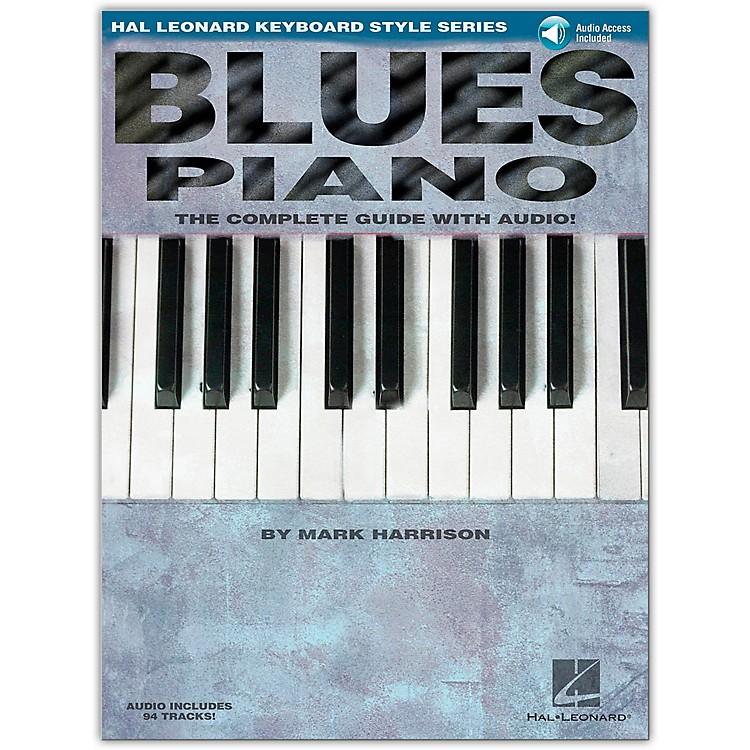 Hal LeonardBlues Piano Keyboard Style Series Book and CD