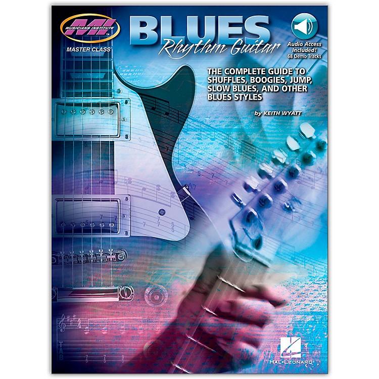 Hal LeonardBlues Rhythm Guitar - MI Series (Book/Online Audio)