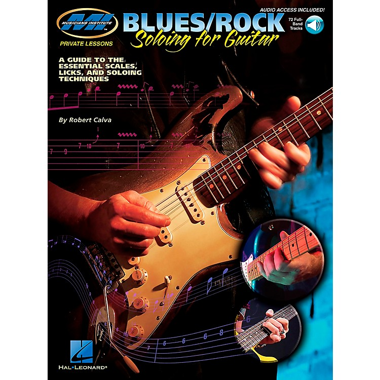 Musicians InstituteBlues/Rock Soloing for Guitar (Book/CD)