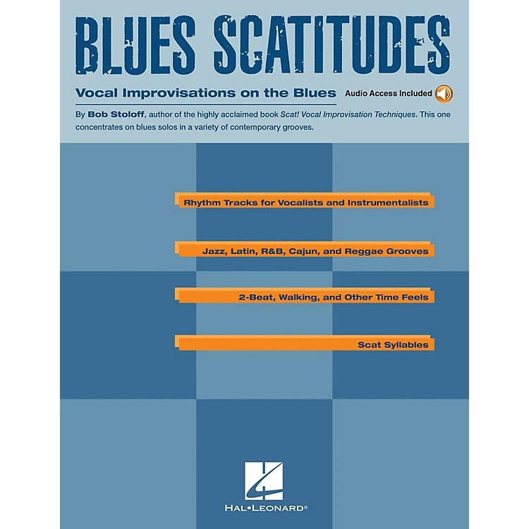 Music SalesBlues Scatitudes Music Sales America Series Softcover with disk